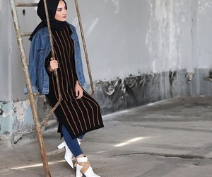 fashion, istanbul, and hijab image
