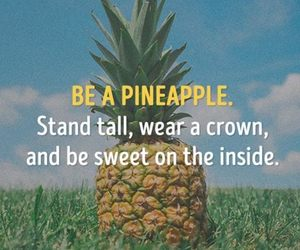 crown and pineapple image