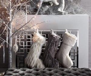 christmas, holiday, and decoration image