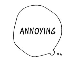 annoying and manga image
