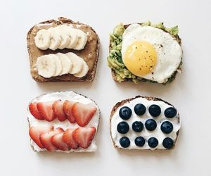 breakfast, yummy, and food image