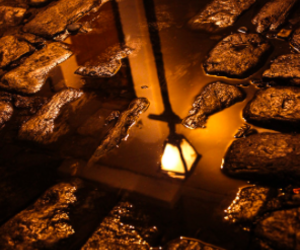light, water, and puddle image