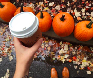 autumn, coffee, and latte image