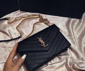 YSL, bag, and luxury image