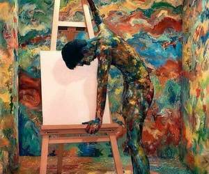 art, artist, and beauty image