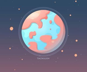 planets, pluto, and wallpaper image