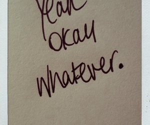 whatever, okay, and quotes image