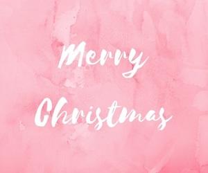 christmas and pink image