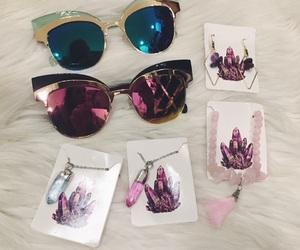 crystals, lovebug, and fur image