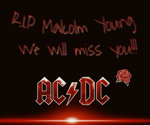 ac dc, band, and r.i.p image