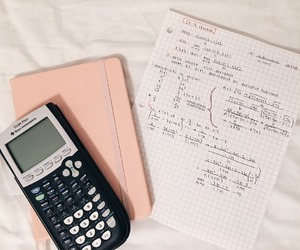 calculator, inspo, and maths image