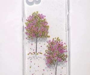 handmade, phone case, and pressed flowers image
