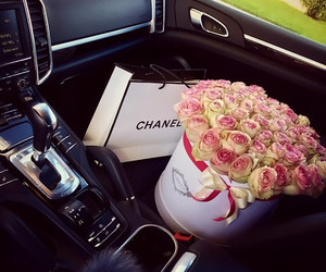 flowers, chanel, and girl image