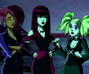 scooby doo, mystery incorporated, and hex girls image