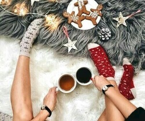candies, christmas, and cozy image