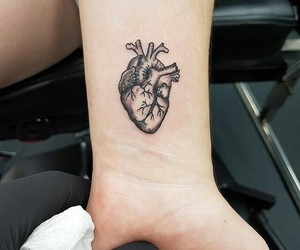 heart and tattoo image