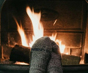 aesthetic, socks, and winter image