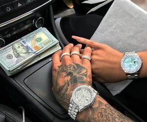 couple, money, and tattoo image