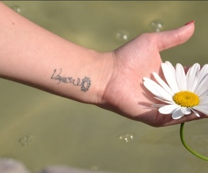 flor, flower, and tattoo image