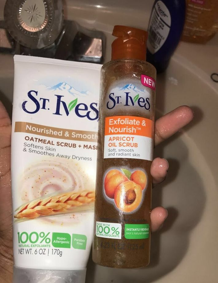 products, skin care, and st ives image