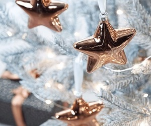 christmas, stars, and ornaments image
