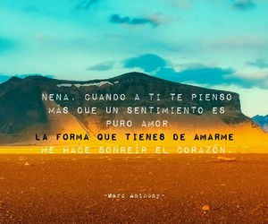 amor, español, and marc anthony image