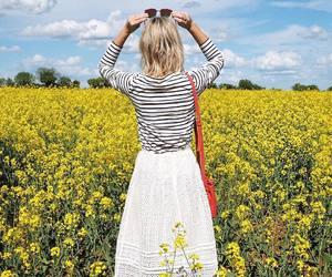 bag, blouse, and breton image
