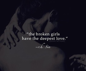 girl, love, and broken image