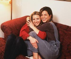 friends, Lisa Kudrow, and Jennifer Aniston image