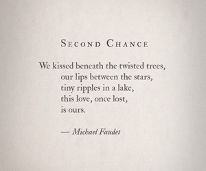 poetry, quotes, and second chance image
