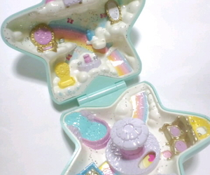 childhood, polly pocket, and toys image