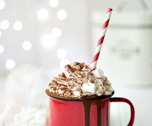 christmas, winter, and chocolate image