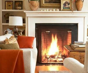 fireplace, home, and living room image