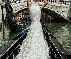 wedding, dress, and marriage image