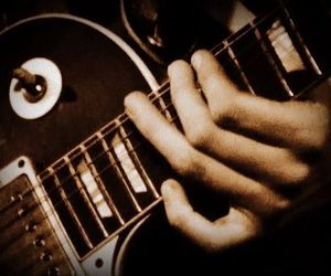 jimmy page, led zeppelin, and les paul image