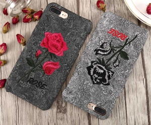 iphone 7 case, floral iphone case, and floral case image