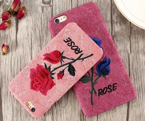iphone case, pink case, and floral case image