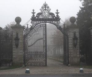 gate, dark, and grunge image