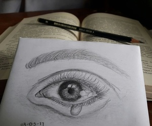 art, artistic, and eye image