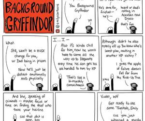 comic, gryffindor, and harry potter image