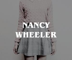 stranger things, natalia dyer, and nancy wheeler image