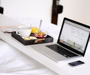 breakfast, food, and apple image