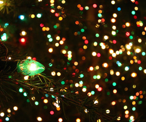 christmas, colors, and lights image