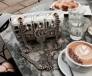 gucci, fashion, and coffee image