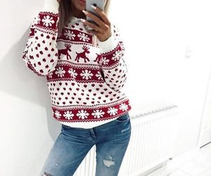 christmas, outfit, and style image