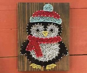 beau, card, and christmas image