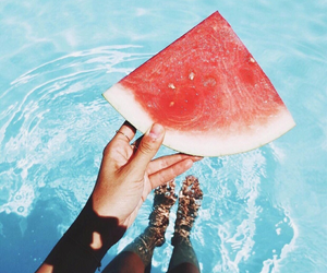 summer, tumblr, and water image