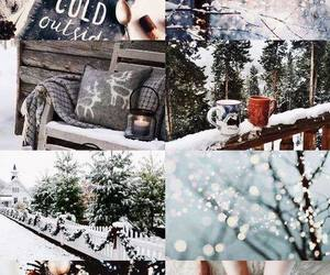 christmas, cold, and winter image
