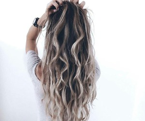 beautiful girl, beauty, and hairstyle image