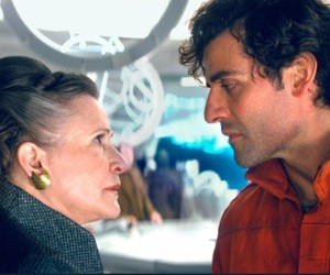 carrie, fisher, and isaac image